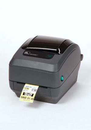 ZEBRA GK420T - low volume printing up to 5 000 labels per month